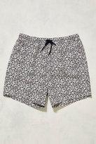Uo Swim Triangle Print Swim Shorts