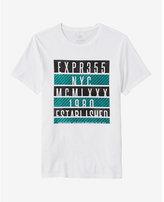 Express bars graphic t-shirt