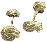 Tiffany & Co. 18K Yellow Gold Double Knot Cufflinks