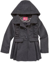 Pink Platinum Girls Midweight Peacoat-Preschool
