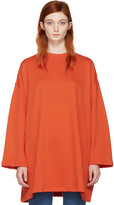 Acne Studios Orange Leyla Pullover