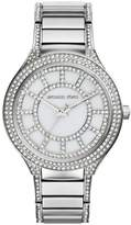 Michael Kors MK3311 Women's Kerry Crystal MOP Dial Stainless Steel Watch