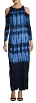 Young Fabulous & Broke Mischa Tie Dye Printed Maxi Dress