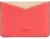 Furla contrasting card holder - women - Leather - One Size