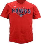 adidas Men's Short-Sleeve Atlanta Hawks Straight To The Hoop T-Shirt