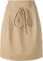 IRO mini skirt - women - Cotton/Polyamide - 36