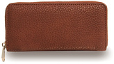 Co-Lab by Christopher Kon Brown Zip-Around Wallet