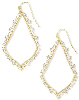 Kendra Scott Sophee Crystal Drop Earrings
