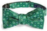 The Tie Bar Men's Steady Bloom Silk Bow Tie