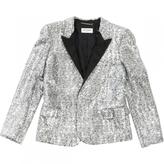 Saint Laurent Silver Jacket