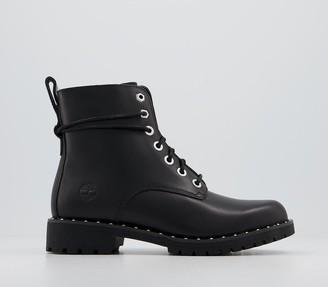 Timberland Lux Stud Boots Black Stud