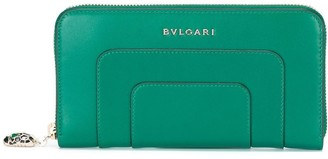 Bvlgari Zip Up Wallet