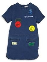 Stella McCartney Toddler's, Little Girl's & Girl's Denim Patch Dress