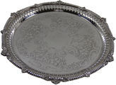 One Kings Lane Vintage Silver-Plate Platter, C. 1900
