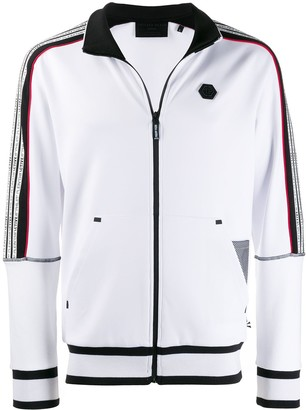 Philipp Plein Striped Active Jacket