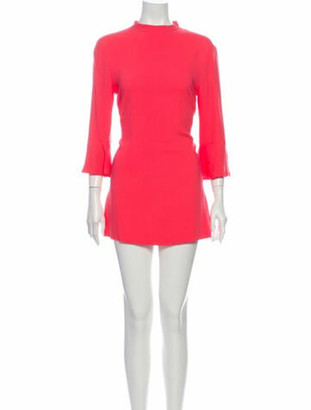 Stella McCartney 2013 Mini Dress Orange