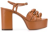 L'Autre Chose platform sole sandals