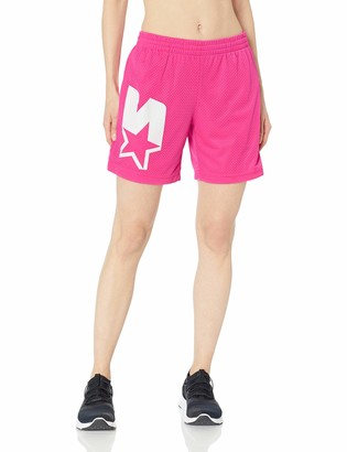 Starter Women's Logo Mesh Short Amazon Exclusive