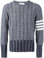 Thom Browne patterned jumper