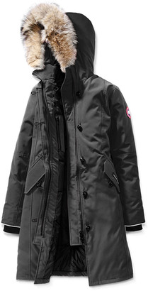 Canada Goose Youth Brittania Parka with Removable Fur Trim, XS-XL