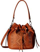Chinese Laundry Emmanuelle Pinstud Single Handle Bucket Bag w/ Adjustable Strap
