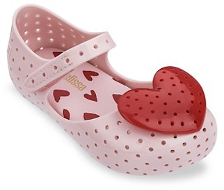Mini Melissa Baby Girl's, Little Girl's Girl's Ultra Perforated Mary Janes