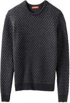 Joe Fresh Men's Pattern Sweater, Navy (Size XXL)