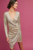 Deby Debo Shimmered Asymmetrical Dress