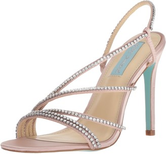 Blue by Betsey Johnson Women's SB-ACES Heeled Sandal