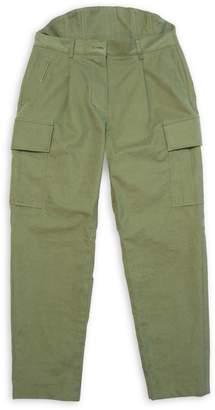 Pushbutton Back-Up Cargo Pants