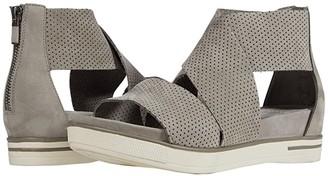 Eileen Fisher Sport 3 (Olive Nubuck) Women's Shoes