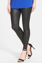 Hue Python Texture Coated Leatherette Legging