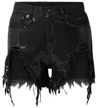 R 13 Denim shorts