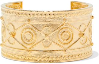Ben-Amun 24-karat Gold-plated Cuff