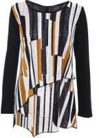 Dorothy Perkins Womens *Quiz Multi Coloured Long Sleeve Top