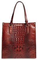 Brahmin Melbourne Maeve Leather Tote - Brown