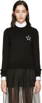 Givenchy Black Cashmere Star Sweater