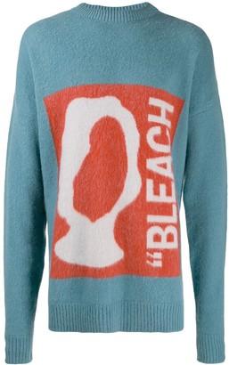 Oamc Bleach print oversized sweater
