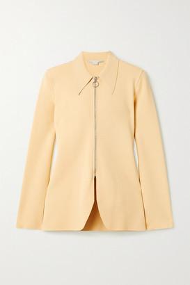 Stella McCartney Stretch-knit Jacket - Pastel yellow