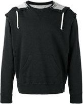 Maison Margiela drawstring hoodie - men - Cotton - 46