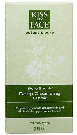 Kiss My Face Potent and Pure Pore Shrink, Deep Pore Cleansing Mask