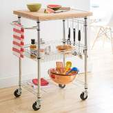 Trinity EcoStorageTM Bamboo Kitchen Cart