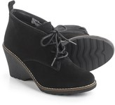 White Mountain Lambert Wedge Ankle Boots - Suede (For Women)