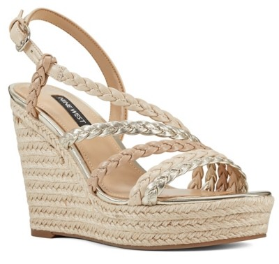 Nine West Halsee Espadrille Wedge Sandal