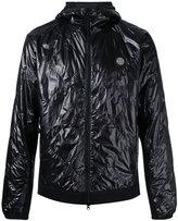 Stone Island quilted hood jacket - men - Cotton/Polyamide/Polyester/Polyurethane Resin - S