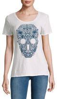 True Religion Skull-Print Cotton Tee