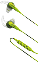 Bose SoundSportTM Sweat & Weather-Resistant In-Ear Headphones With 3-Button In-Line Remote and Carry Case For iOS Devices