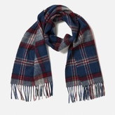 Barbour Men's Wimbrel Scarf - Blue Check