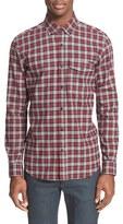 Belstaff Men's 'Samuel' Extra Trim Fit Plaid Flannel Shirt