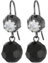 Lauren Ralph Lauren Hide and Chic Faceted Stone Double Drop Earrings Earring